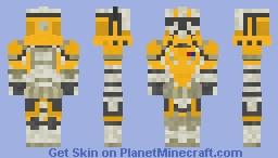 13th Batallion Captain Temple Minecraft Skin