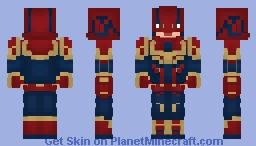 Captain Marvel | MCU (Helmet) Minecraft Skin