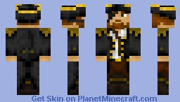 Captain of Pirates Minecraft Skin