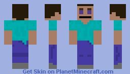 Captain sparkles 'revenge' (usher parody) steve Minecraft Skin