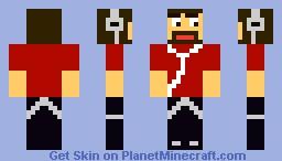 CaptainSparklez Skater Minecraft Skin