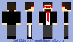 capitan sparkelz Minecraft Skin