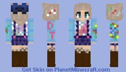 CaraRose Winter Skin 2019 Minecraft Skin