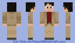 Carl Sagan Minecraft Skin