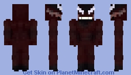 Venom: Let there be carnage | Carnage Minecraft Skin