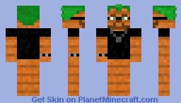 Human Carrot Minecraft Skin