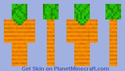 carrot Minecraft Skin