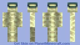 Endportal Frame man! Minecraft Skin
