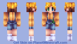 Casey - I made my persona again because I didn't like the last one. Minecraft Skin