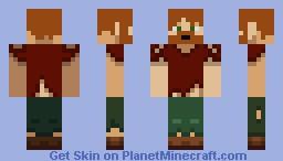 castaway Minecraft Skin