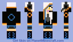 Gamer GLaDOS Minecraft Skin