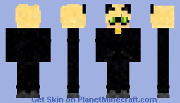 Cat Noir Minecraft Skin