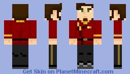 Starfleet Engineering Uniform (Late 2270s-2350s) Minecraft Skin