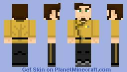 Starfleet Engineering Uniform (2300s Concept) Minecraft Skin