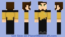 Starfleet Engineering Uniform (2350s-2370s) Minecraft Skin