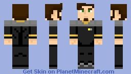 Starfleet Engineering Uniform (2370s) Minecraft Skin