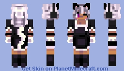 Cat Girl   𝓒𝓪𝓽 𝓖𝓲𝓻𝓵   Minecraft Xbox 360 skin (remake) Minecraft Skin