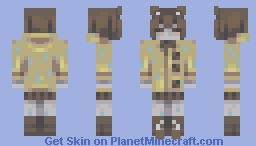 late for the bus - oc Minecraft Skin