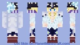 【One Piece】 Cavendish the Superstar Minecraft Skin