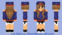Not cubebuilder's girl Minecraft Skin