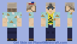 Boogaloo Boy Minecraft Skin