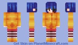 coraline ~ 𝐬𝐩𝐨𝐨𝐤𝐭𝐨𝐛𝐞𝐫 🎃 Minecraft Skin