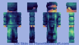 'Ever have that feeling where you're not sure if you're awake or dreaming?' - CE Minecraft Skin