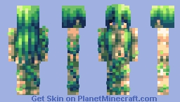 A sad little weeping willow Minecraft Skin