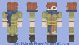 °.✩┈ 🍂🌿 Rhys (oc) ✩.° Minecraft Skin