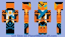 Kamen Rider Hattari Sanjou Minecraft Skin