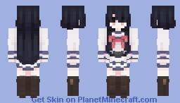 本城 遊理 YURI Minecraft Skin