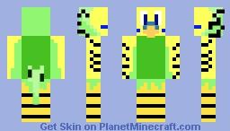 Green Budgie Skin - skin papużki falistej Minecraft Skin