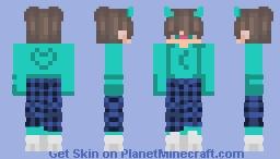 𝓣𝓾𝓻𝓺𝓾𝓸𝓲𝓼𝓮 Minecraft Skin