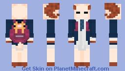 back to school ram Minecraft Skin