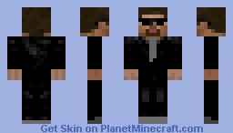 Agent Steve Minecraft Skin