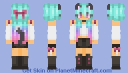 ◭◮ | For Tinyonetwo | ❀ Minecraft Skin