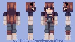 simone (oc) Minecraft Skin