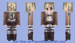 Annie Leonhart | Attack on Titan Minecraft Skin
