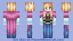 Princess Anna (Frozen) Dec 7th. Minecraft Skin