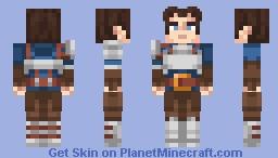 Brave adventurer Minecraft Skin