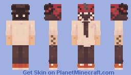 ChainSaw Man Minecraft Skin