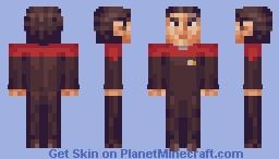 Commander Chakotay (first officer) Star Trek Voyager Minecraft Skin