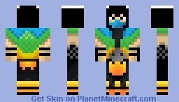 Chameleon (MK/mortal kombat) Minecraft Skin