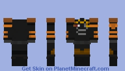 Chaos Legion Soldier Minecraft Skin