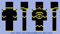 Chaos SpaceMarine Minecraft Skin