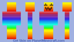 Evil Rainbow :3 Minecraft Skin