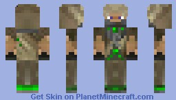 "Command and Conquer Generals Zero hour ""GLA Toxic Trooper"" Minecraft Skin"