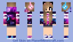 Cool Girl Minecraft Skin