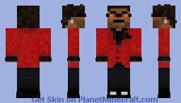The Weeknd Heartless Minecraft Skin