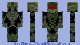 Some Sci Fi soldier Minecraft Skin
